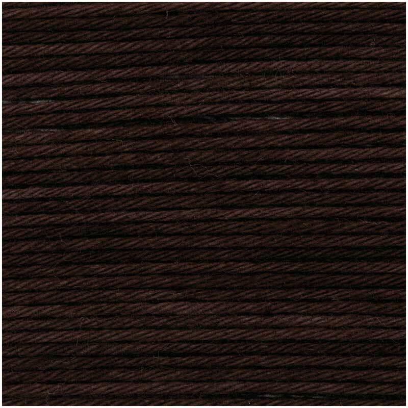 Ricorumi Wolle - 25 g, schokolade
