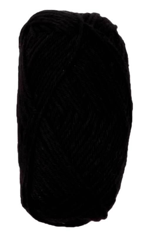 Laine Ricorumi - 25 g, noir