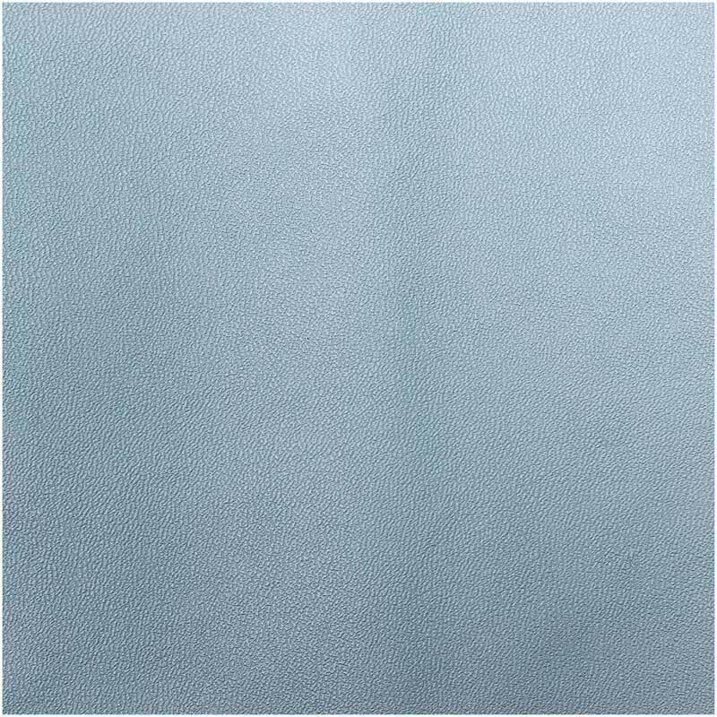 Kunstleer - 45 x 100 cm, lichtblauw mat