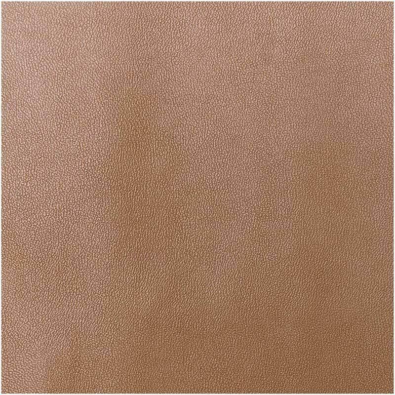 Simili-cuir - 45 x 100 cm, brun mat