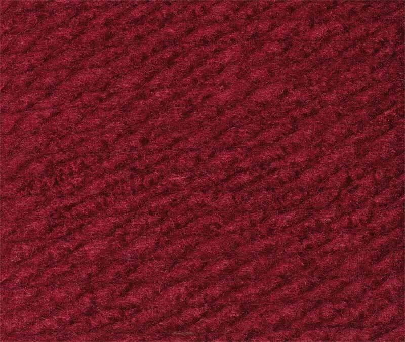Wolle Bravo Big - 200 g, burgund