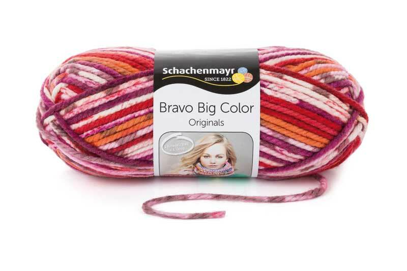 Wolle Bravo Big Color - 200 g, jazz color