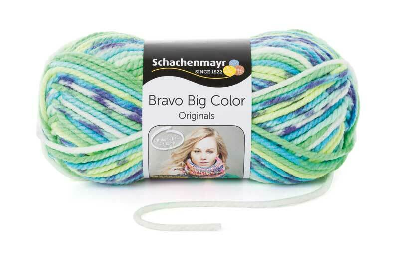 Wol Bravo Big - 200 g, fresh color