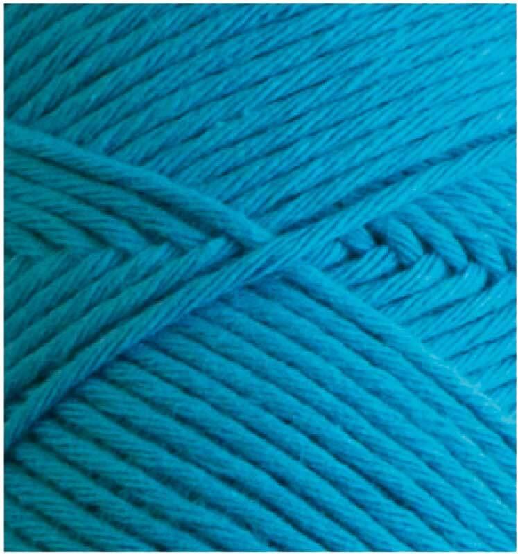 Wolle Joker 8 - 50 g, azurblau