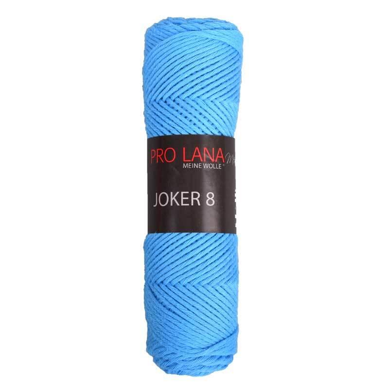 Laine Joker 8 - 50 g, bleu azur