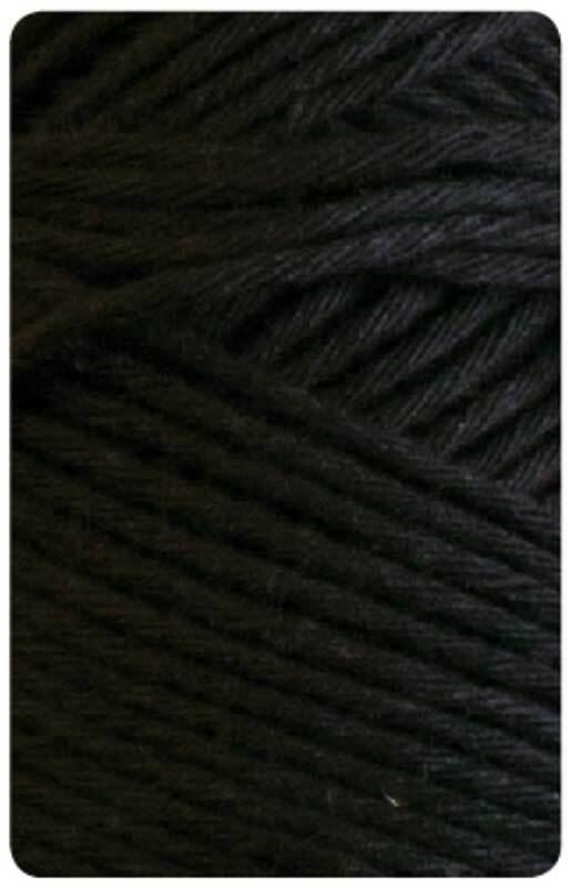 Wolle Joker 8 - 50 g, schwarz