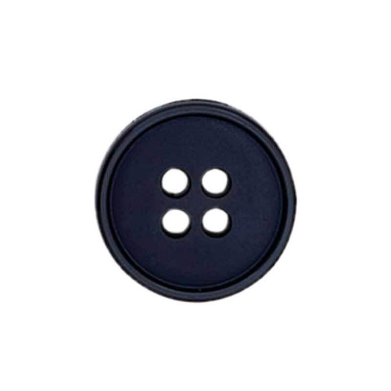 Boutons 4 trous - Ø 15 mm, marine