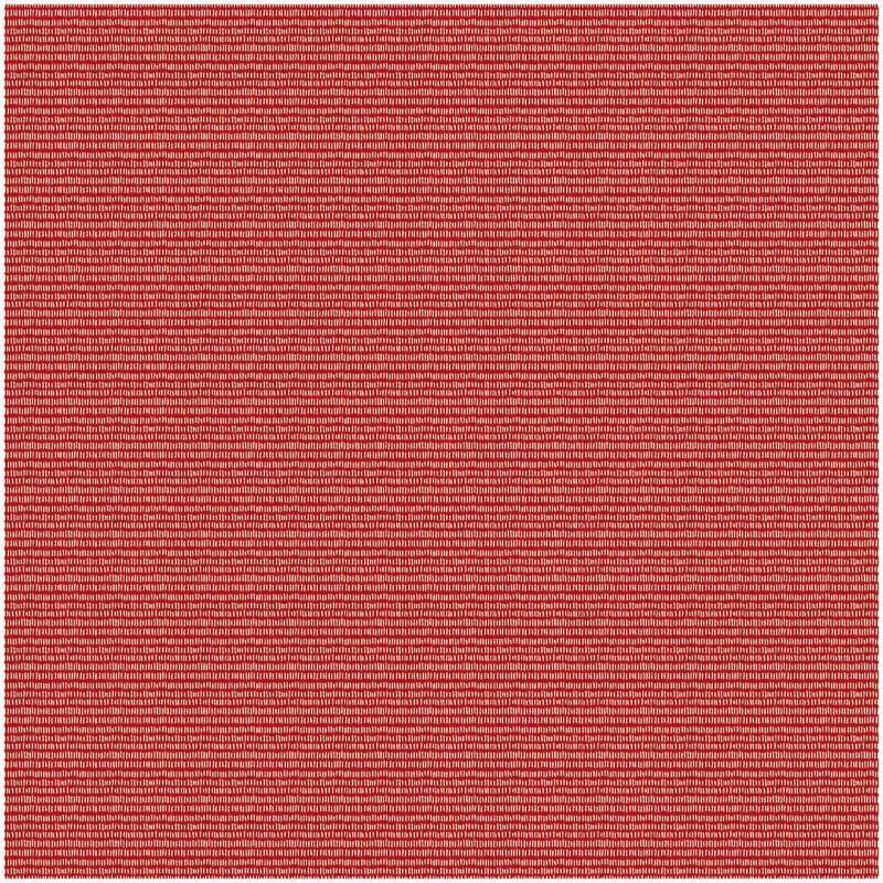 Tissu coton - imprimé, traits rouges/blancs