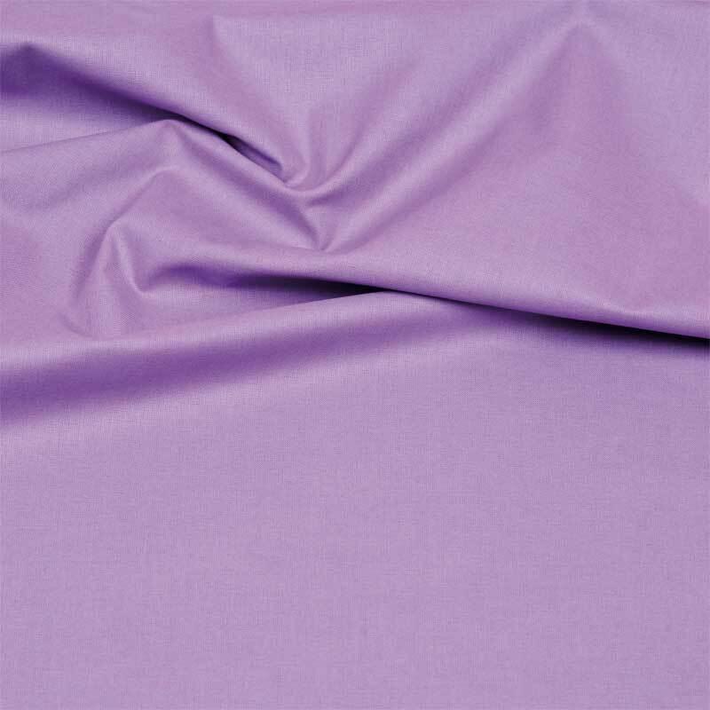 Katoenen stof - effen, lavendel