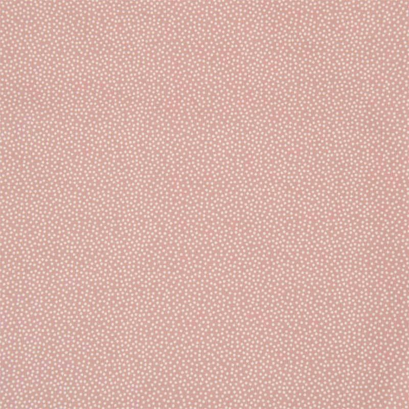 Katoenen stof - patroon, koraal gestipt