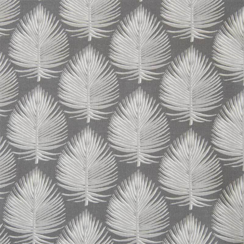 Tissu coton - à motifs, arbres gris