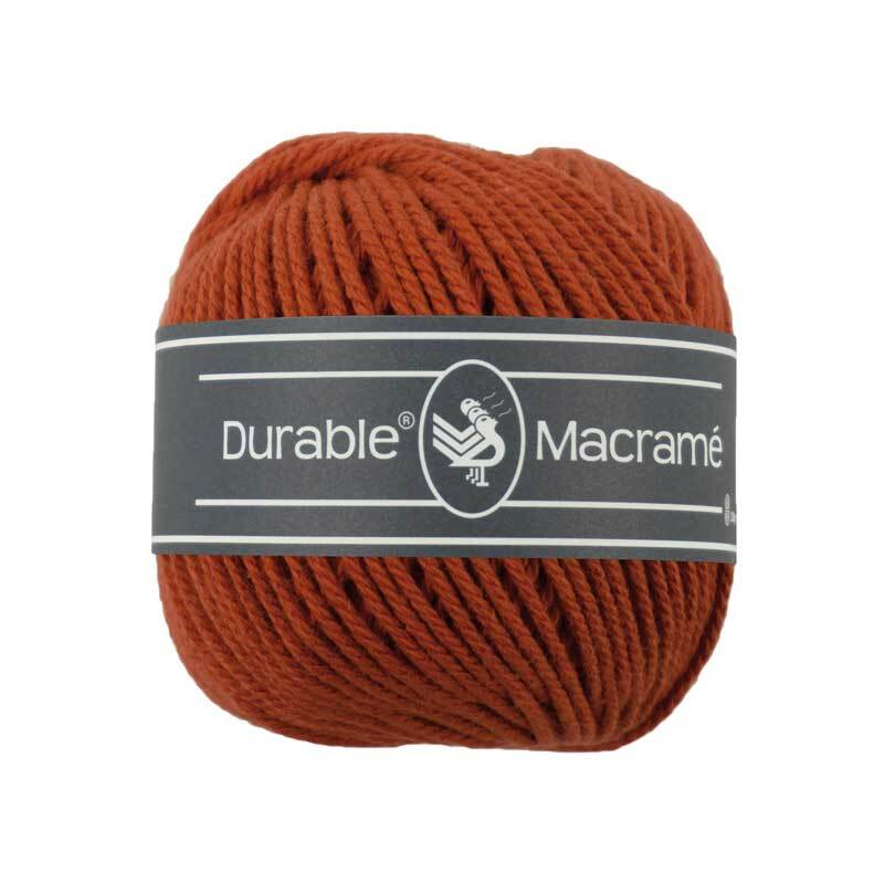 Makrameegarn Durable Macramé - Ø 2 mm, brick