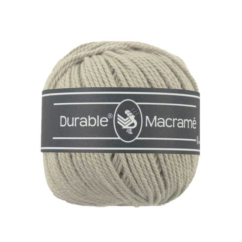 Fil Durable Macramé - Ø 2 mm, linen