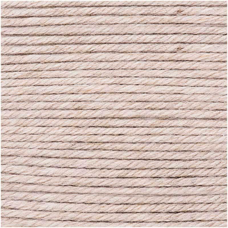 Wolle Essentials Mega Wool - 100 g, natur