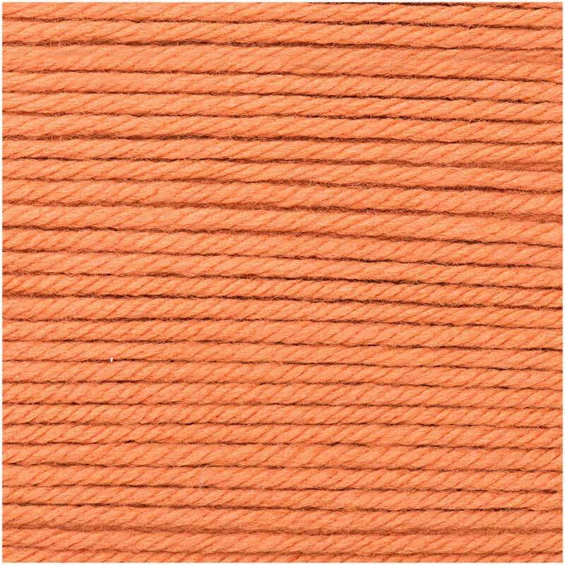 Wolle Essentials Mega Wool - 100 g, orange