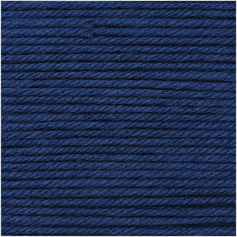 Wolle Essentials Mega Wool - 100 g, blau