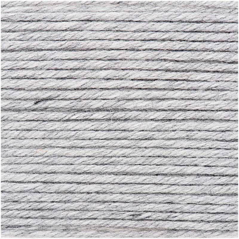 Wolle Essentials Mega Wool - 100 g, hellgrau