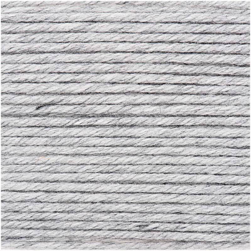 Laine Essentials Mega Wool - 100 g, gris clair