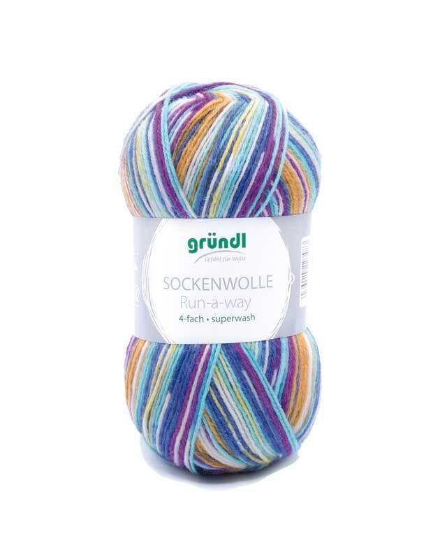 Aduis voordeelpakket - 6 x sokkenwol Run-a-way