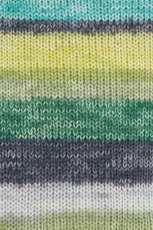 Sockenwolle Hot Socks Madena - 100 g, neptun