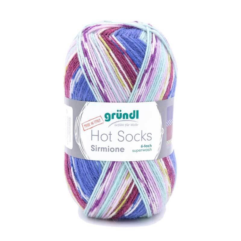 Sockenwolle Hot Socks Sirmione - 150 g, art deco