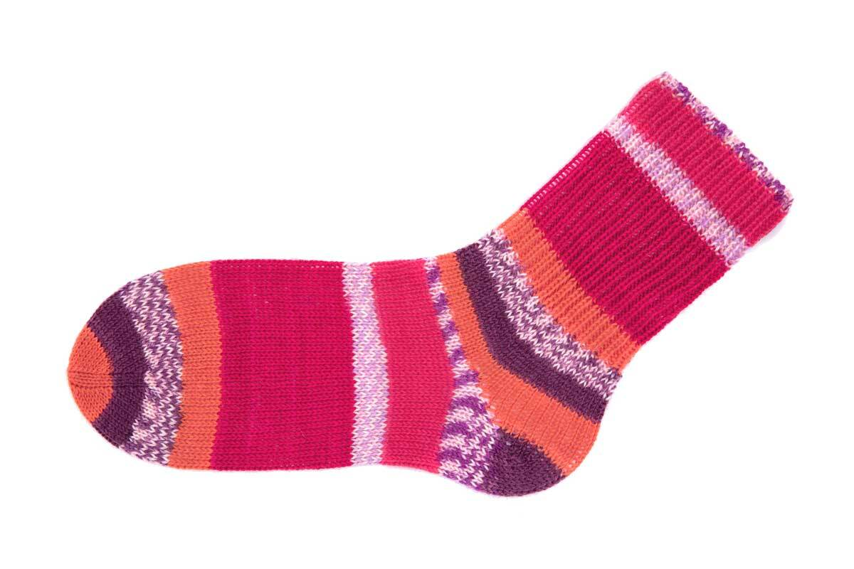 Sokkenwol Hot Socks Sirmione - 150 g, carbernet