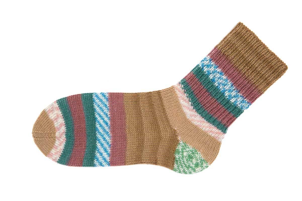 Sockenwolle Hot Socks Sirmione - 150 g, espresso