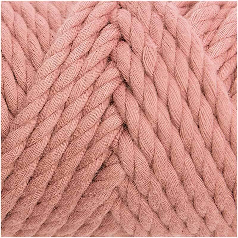 Macramé koord - Cotton Cord - Ø 5 mm, poeder