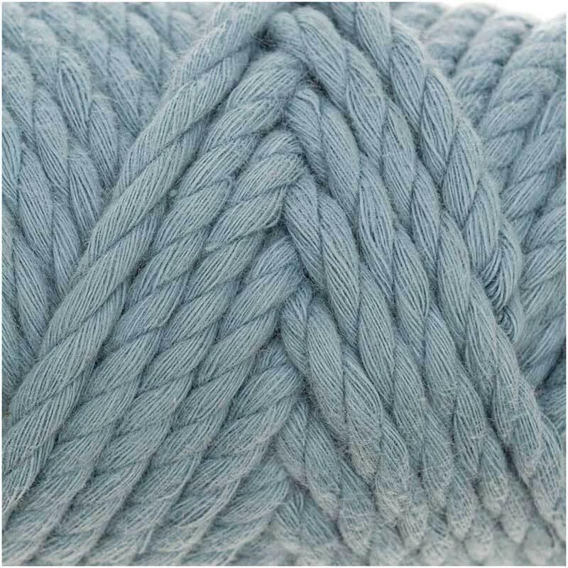 Macramé koord - Cotton Cord - Ø 5 mm, patina