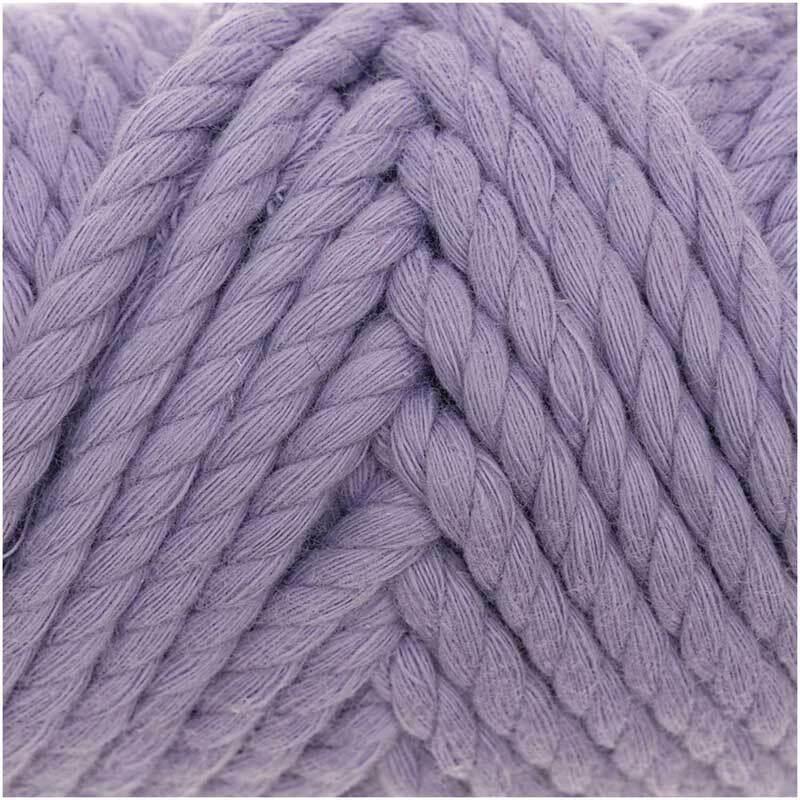 Macramé koord - Cotton Cord - Ø 5 mm, lila