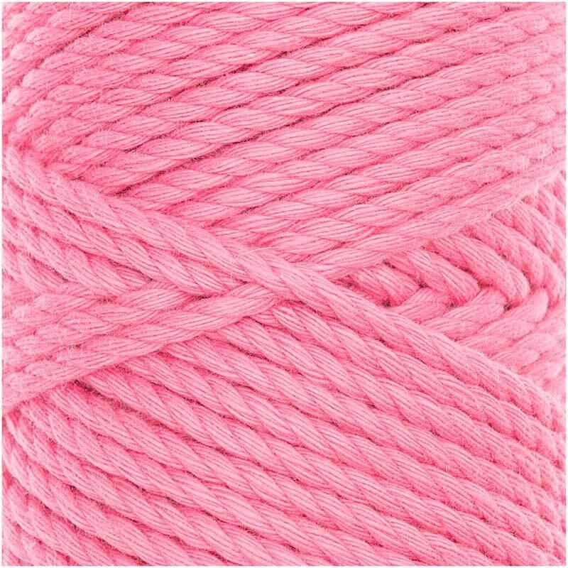 Corde macramé Cotton Cord Skinny - Ø 3 mm, pink