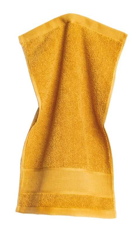 Gastendoekje - 30 x 50 cm, mosterd