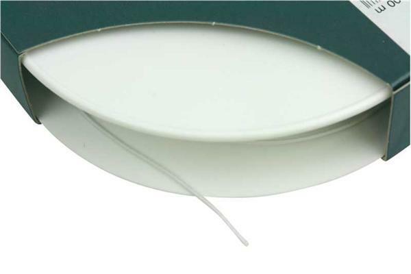 Elastic Kordel - Ø 1,5 mm, weiß, 100 lfm