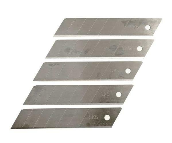 Lames de cutter - 5 pces, 25 mm