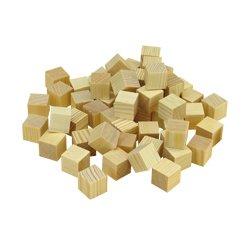 Holzwürfel klein - 50er Pkg., 20 x 20 mm