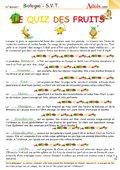 Légumes - Fruits