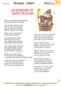 Chansons St Nicolas