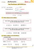 gemischte Aufgaben - komplexere Übungen