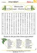 Rätsel & Quiz - versteckte Wörter