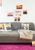 Mein Wohnraum - Tisch und Wanddeko