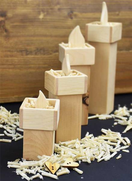 Zirbenholz Kerzen
