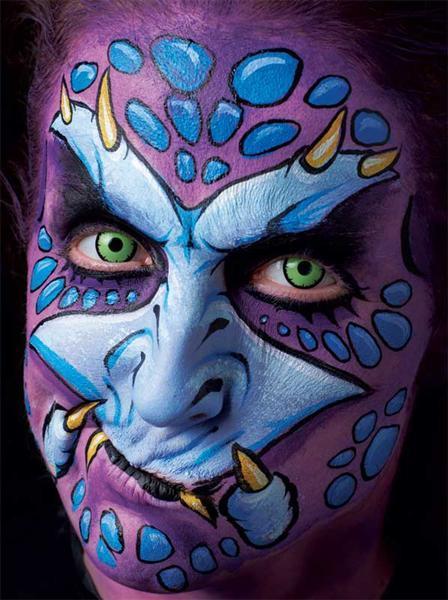 Boek - Extreme Facepainting