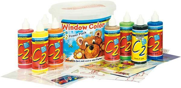 Glasverf set - Window Color, Power Pack