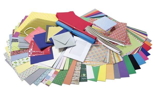 Assortiment surprise de papier