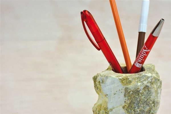 Ebauches en stéatite, Porte-crayons
