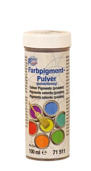 Kleurpigmentpoeder - 100 ml, roestbruin