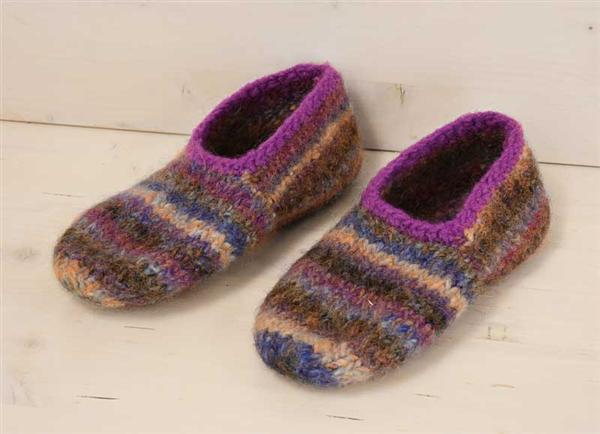 Filzwolle Color - 50 g, violett-pastell