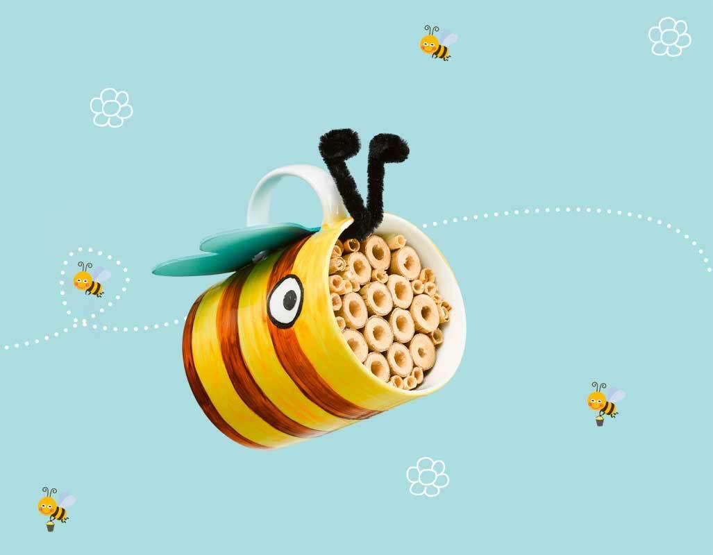 Buch - Let's bee friends, Bastelbuch rund um Biene