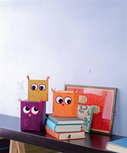 Buch - Schmucke Holzwürfel