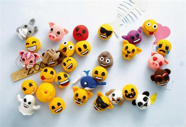 Boek - Emojis häkeln